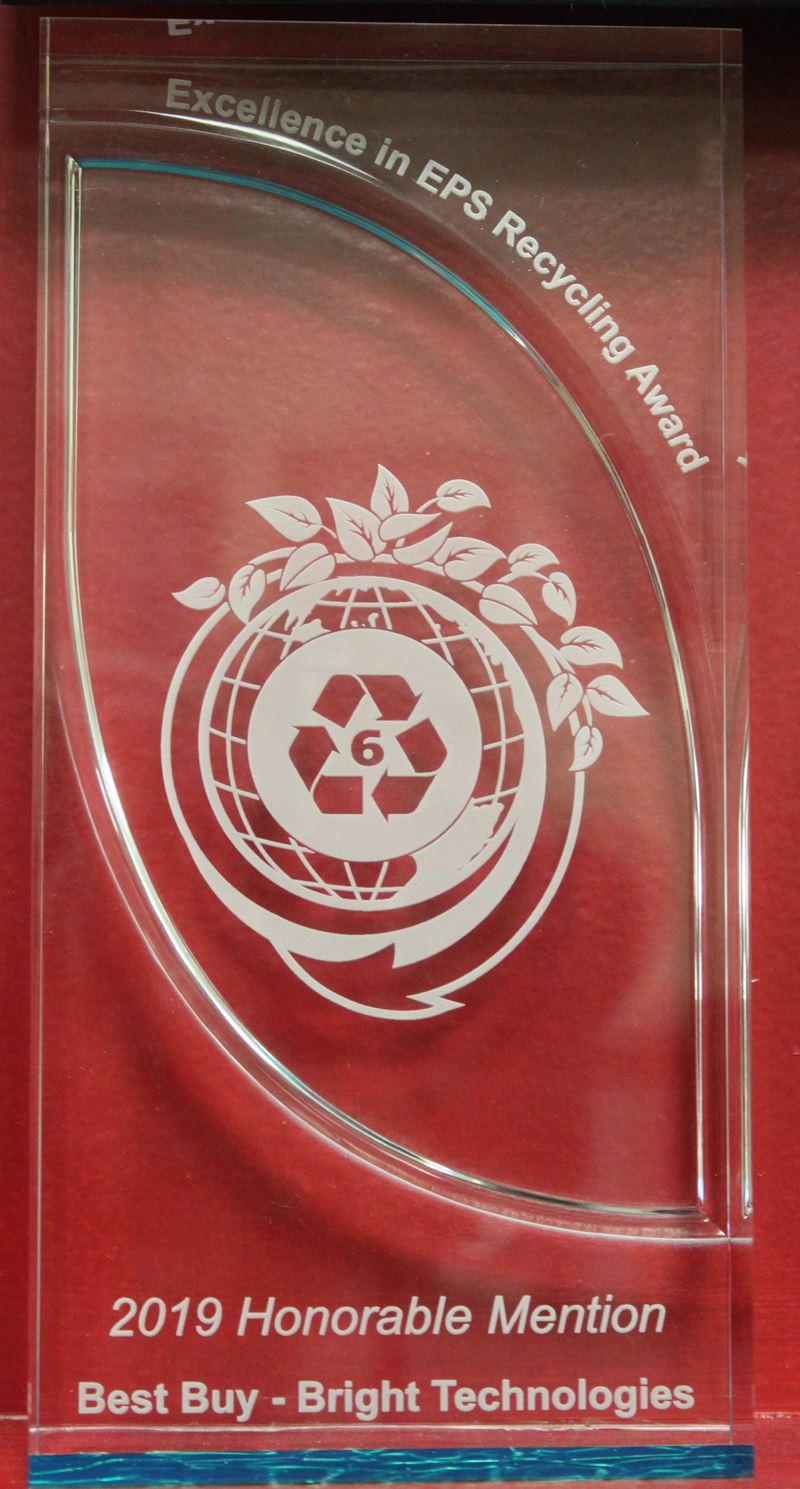Excellence in EPS Recycling Award